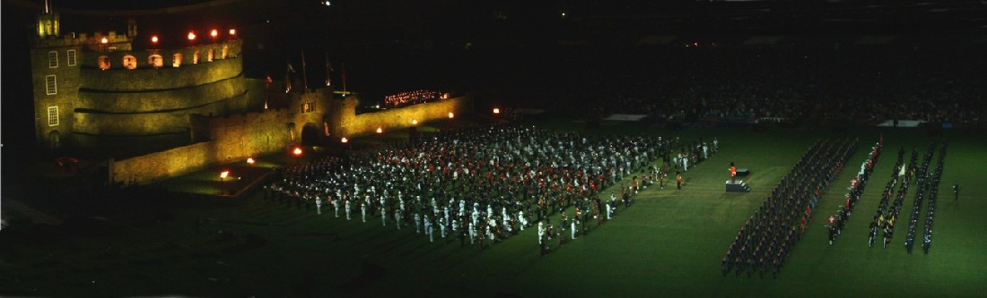 By the way, the Edinburgh Military Tattoo came to Sydney in February. Wow!